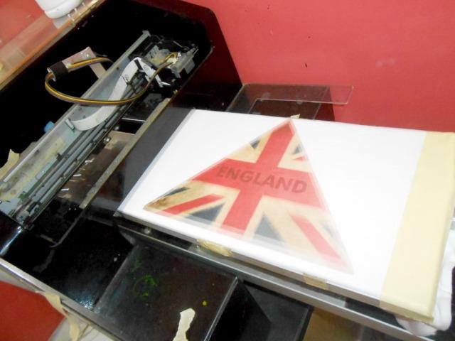 Kaos England Flag